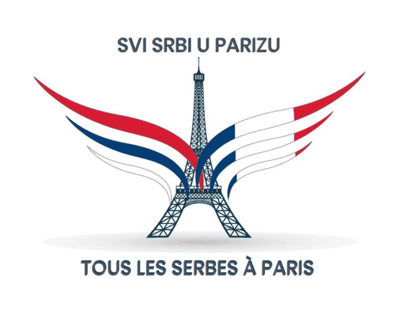 Tous les Serbes à Paris
